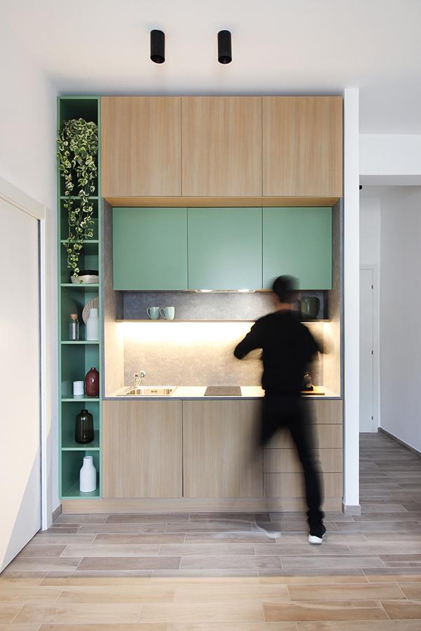 11 - Cucina verde